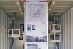 """Jubiläumsausstellung: Modul """"125 Jahre MAUSS BAU"""""""