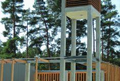 Glockenturm der Aussegnungshalle Buckenhof