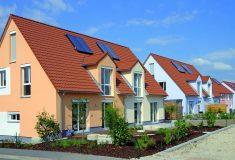 Im Wohngebiet Herzogenaurach-Hauptendorf verwirklichte MAUSS das erste Bauprojekt der Marke eco-Konzept.