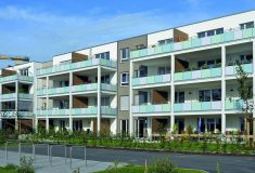 Die 29 Wohnungen im Mehrgenerationenhaus Stadtquartier im Erlanger Röthelheimpark konnten im Juli 2011 bezogen werden.