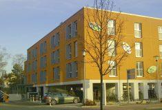 In der Erlanger Hofmannstraße entstanden 52 Appartements für Studenten.