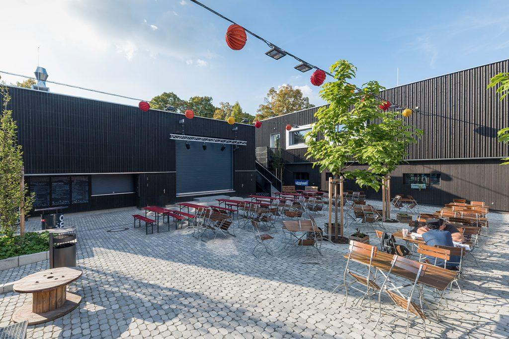 Architekt Erlangen neubau jugendtreff am e werk erlangen mauss bau